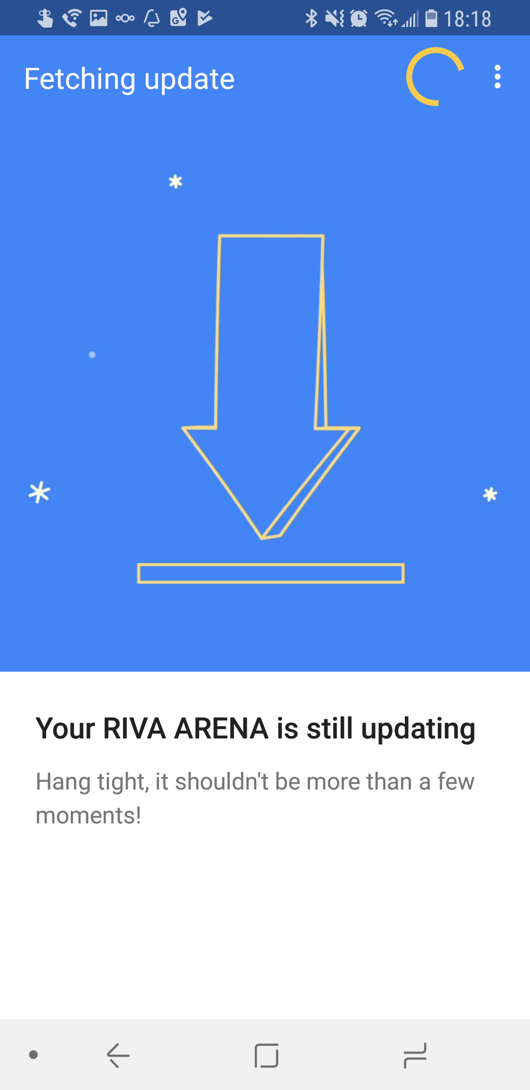 Arena Firmware Update